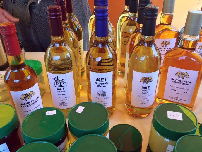 Honig - Met - Honiglikör - Bauernnmarkt Olpe - Hubert Schauerte