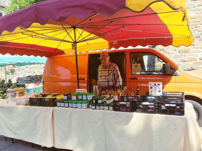 Hubert Schauerte - Bauernmarkt Olpe - Honig - Met - Honiglikör