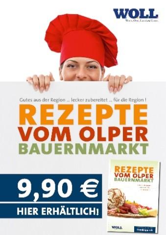 Rezepte vom Olper Bauernmarkt - Kochbuch Olpe