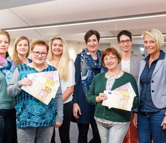 Sparkasse Olpe - Spendenübergabe Altweiber 2017