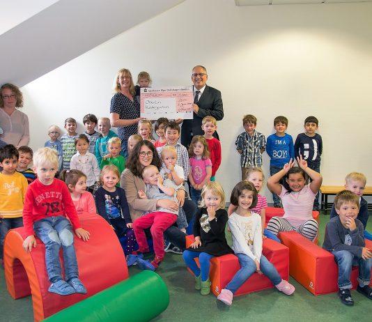 Sparkasse-Olpe Spende Oberlin Kindergarten