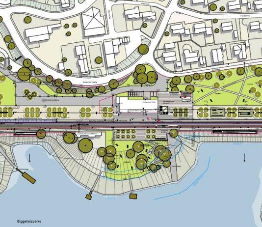 Regionale 2013 - Seeufer Sondern - Planung