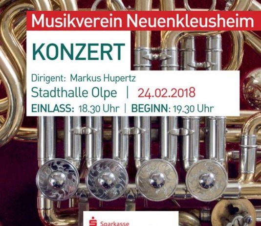 Konzert Musikverein Neuenkleusheim - Stadthalle Olpe 2018