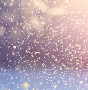 Schneefall - Fahlenscheid Olpe